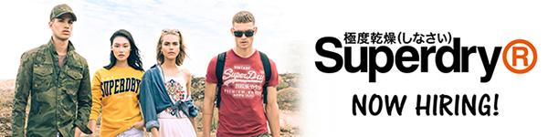 Superdry is now hiring on FastJobs!