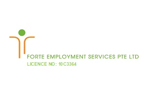 FORTE EMPLOYMENT SERVICES PTE. LTD. is now hiring on FastJobs!